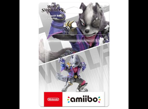 Nintendo Amiibo Figure Super Smash Bros. Collection Wolf - No. 63