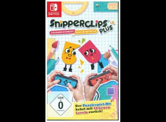Nintendo Switch - Snipperclips Plus - Zusammen schneidet man am besten ab!