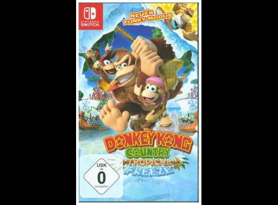 Nintendo Switch - Donkey Kong Country Tropical Freeze