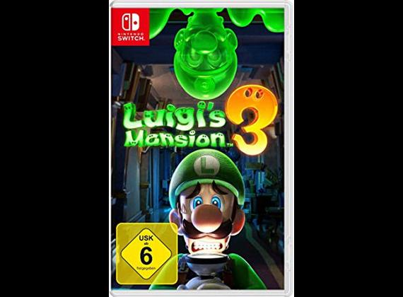 Nintendo Switch - Luigis Mansion 3
