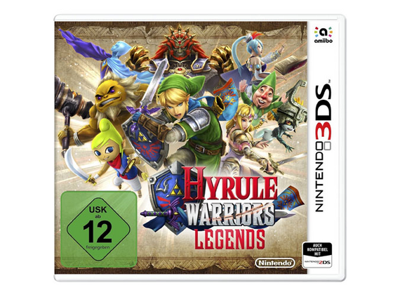 Nintendo 3DS - Hyrule Warriors Legends