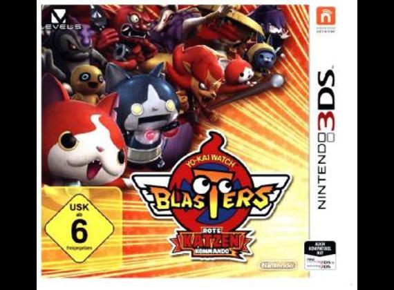 Nintendo 3DS - YO-KAI WATCH BLASTERS Rote-Katzen-Kommando