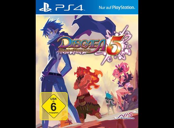Playstation 4 - Disgaea 5: Alliance of Vengeance