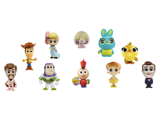 Toy Story 4 Minis figures Ultimate new friends 10-pack