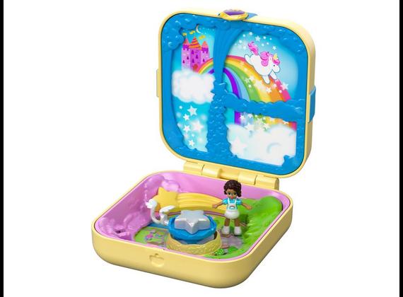 Mattel Polly Pocket Hidden Treasures Unicorn