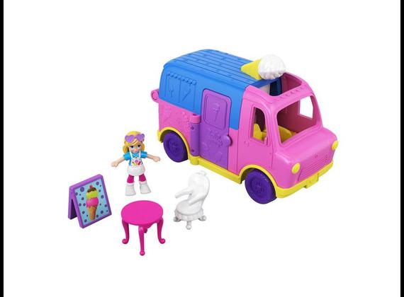 Hasbro Polly Pocket Pollyville Ice Cream Truck