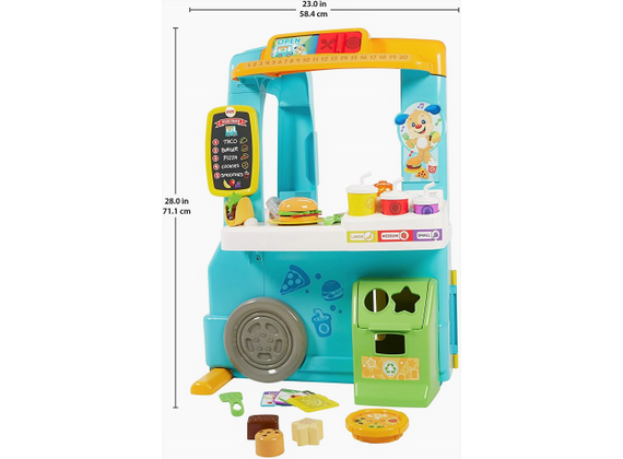 Fisher-Price Learning Fun Food Truck (German / Spanish / French)