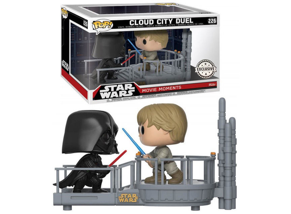 Funko Pop! Star Wars Cloud City Duel Darth Vader