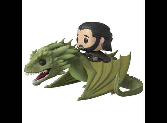 Funko Pop! Rides: Got - Jon Snow w / Rhaegal Game of Thrones