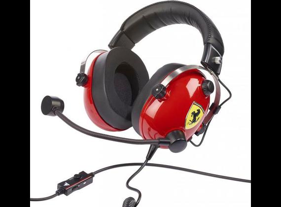 Thrustmaster T.Racing Over-Ear Headset, Scuderia Ferrari Edition