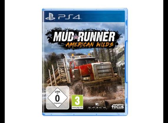 Playstation 4 - MudRunner - American Wilds Edition