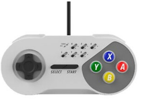 Subsonic Wired Turbo Controller for NES Classic