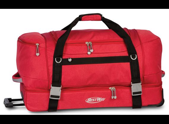 Bestway Roller Tote Bags, Wine Red