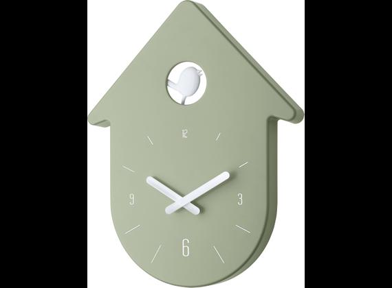 Koziol wall clock TOC-TOC 2,7x24x30,5 cm white-eucaly