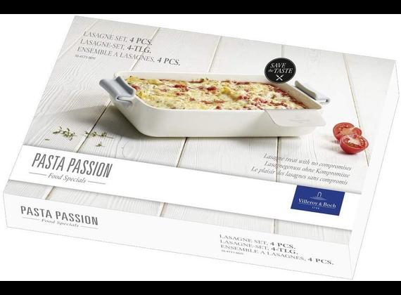 Villeroy & Boch Pasta Passion lasagna set 4-pieces