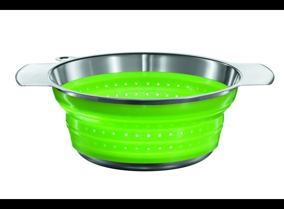 Rosle Foldable Colander green