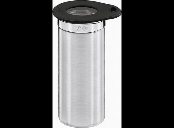 Rösle can with lid 0.2Liter Ø5cm
