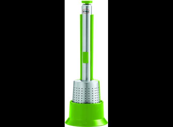 Rösle tea bell made of stainless steel, green