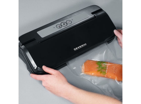 Severin vacuum sealer to the Sous-Vide steaming