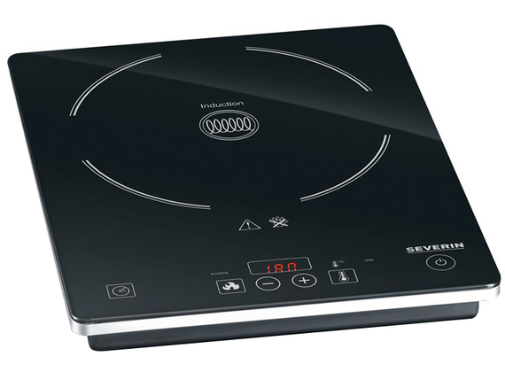 Severin induction hob, black approx 2000 W