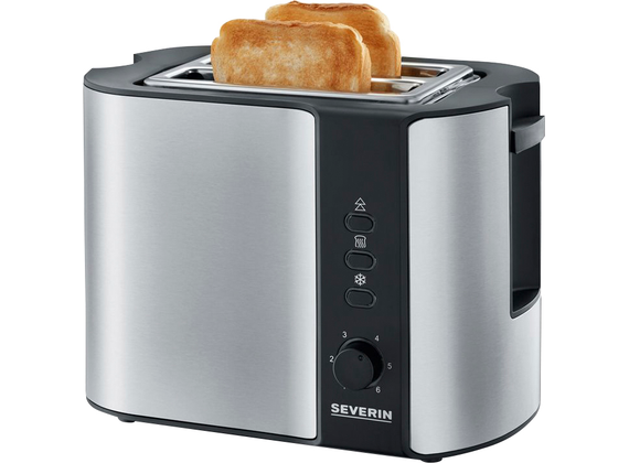 Severin automatic toaster, stainless