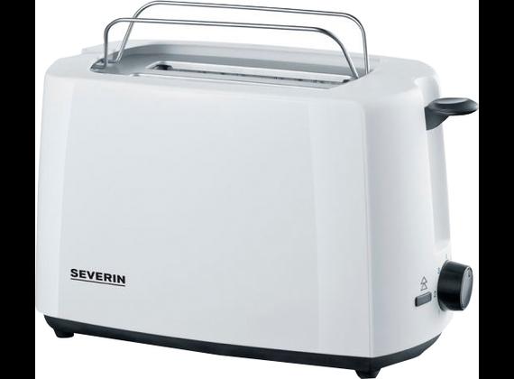 Severin 2286 automatic toaster, plastic, white / black