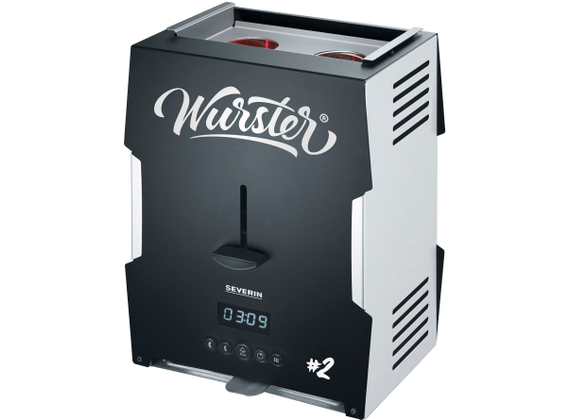 Severin Wurster - WT 5005, stainless steel brushed, black