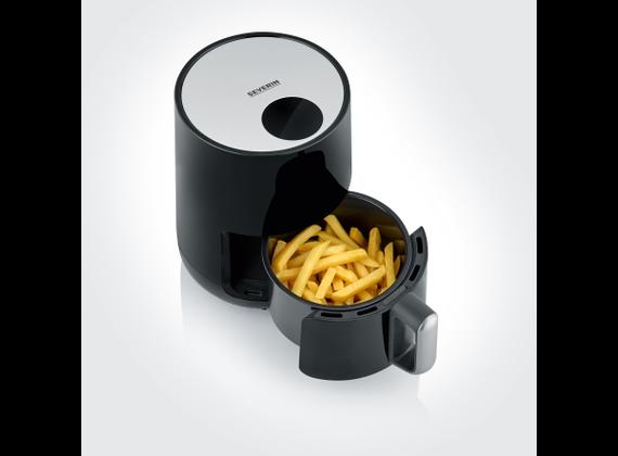 Severin Hot Air Fryer, Slim-Design - black / silver