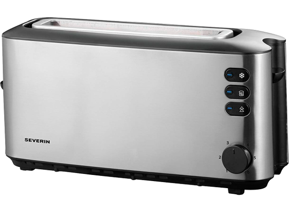 Severin automatic long slot toaster, stainless
