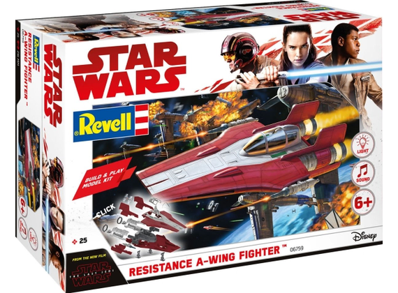 Star Wars Build & Play Resistance A-Wing Fighter