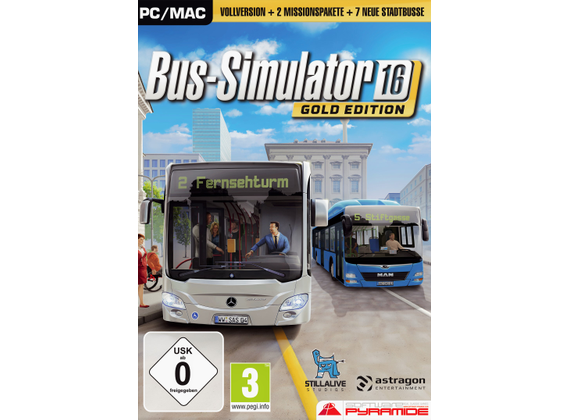 PC - Bus Simulator 16 Gold Edition