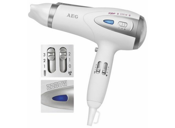 AEG HTD5584 hair dryer 2200W