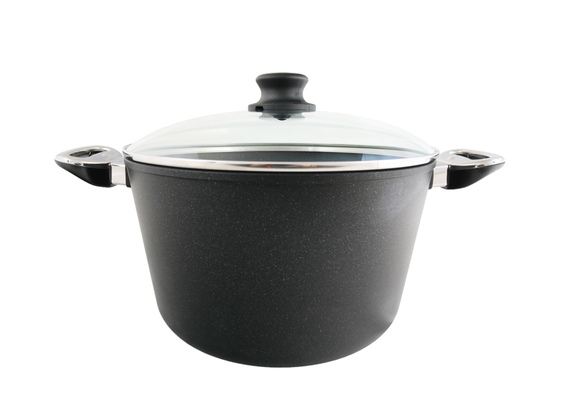 "BAF vegetable pot with glass lid \""induction\"""
