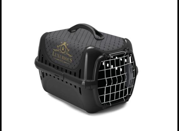 Karlie transport cage Luxuriousline in black