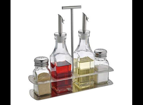 Cilio Menage Tavola - Salt + Pepper Tax + Oil Bottle