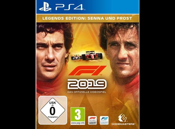 PlayStation 4 - F1 2019 Legends Edition