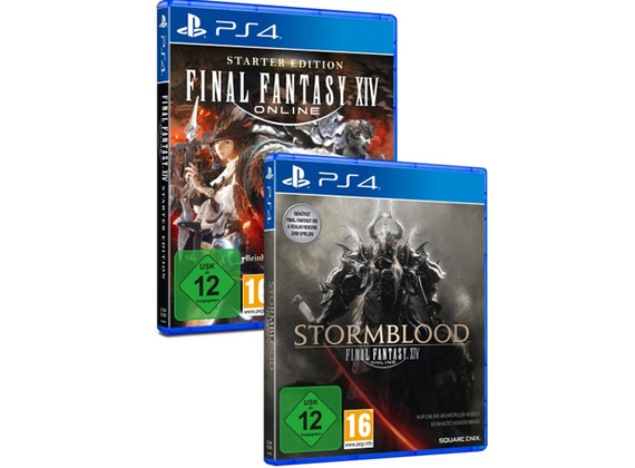 Playstation 4 - Final Fantasy XIV: Online - Double Pack