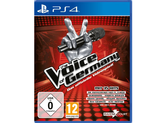 Playstation 4 - The Voice of Germany - Das offizielle Videospiel