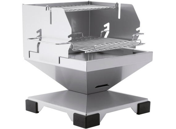 THÜROS T1 Direkt Plus Tabletop / Charcoal BBQ Grill - Stainless Steel