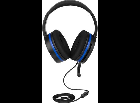 Snakebyte Head: Set 4 Pro ™ for PlayStation 4, black / blue
