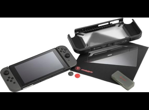 Snakebyte Tough: Kit for Nintendo Switch, black