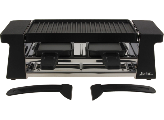 Spring Raclette 2 Compact, black