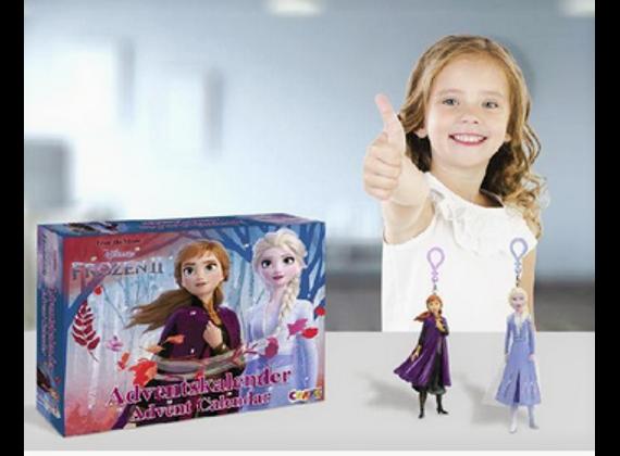 Craze Frozen 2 Advent calendar models 2019