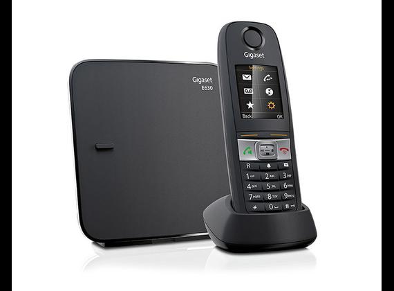 Gigaset E630 Black + TAE connector DE / AT S30852-H2503-C101