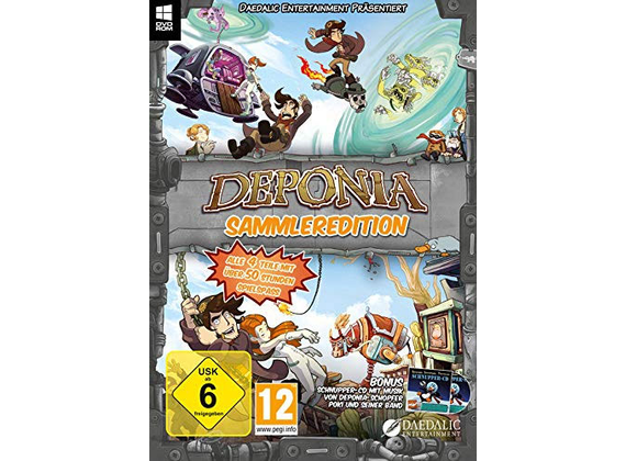 PC - Deponia Collector\'s Edition (all four parts in one edition)