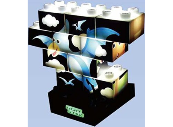 Abanico Light Stax Puzzle Stax Dino M-03003