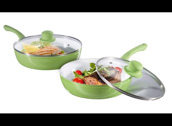 Ceraflon Slim Pan cast aluminum high-margin Pans Set 4Pcs