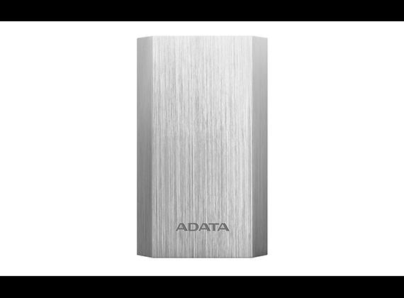 ADATA A10050 Power Bank, Silver Lithium Ion
