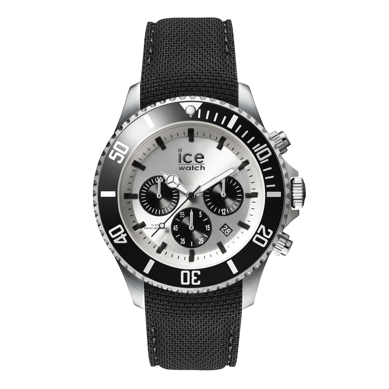 ICE wristwatch in black steel size L