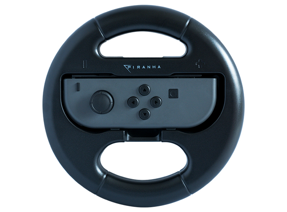 Piranha Switch Duo Wheel Pack - Steering Wheel for Nintendo Switch Joy Cons